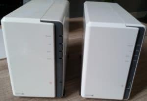NAS DS212J versus DS218J