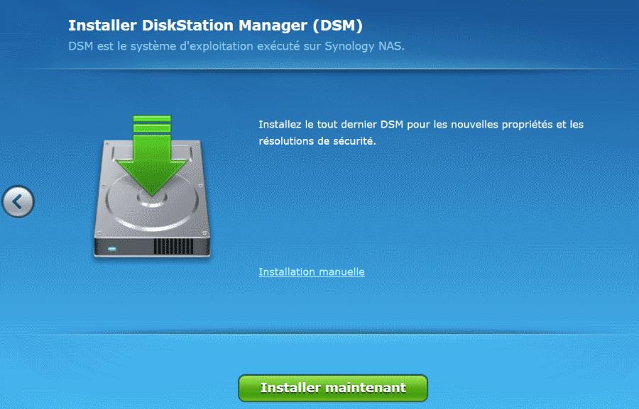 Installation du dernier DSM automatiquement